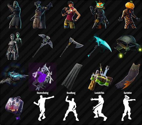 fortnite leaked skins leaked skins and cosmetics found in the fortnite v6 02