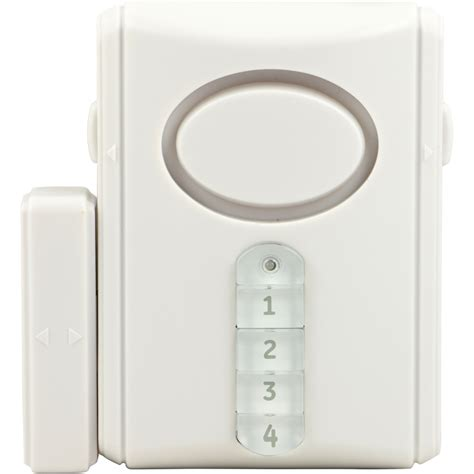 Keypad Door Lock Lowes by Shop Ge Door Alarm With Keypad At Lowes