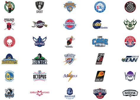 Mba Team Logos by Brand New Marvel Nba Logos