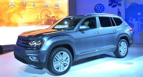 volkswagen atlas 7 seater 2018 vw atlas is a brand 7 seater large crossover for
