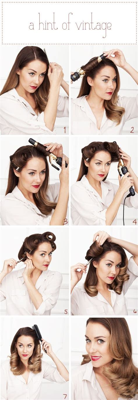 retro hair short diy 5 diy hairstyles perfect for pre wedding parties onewed