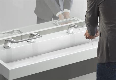 bradley sink with dryer neocon 2017 bradley intros touchless sink combo