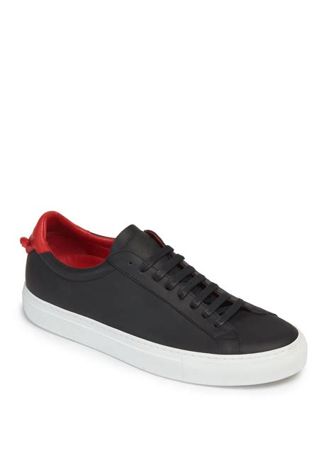 givenchy sneakers lyst givenchy knots leather sneakers in black for