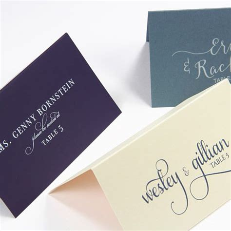 Wedding Place Card Paper