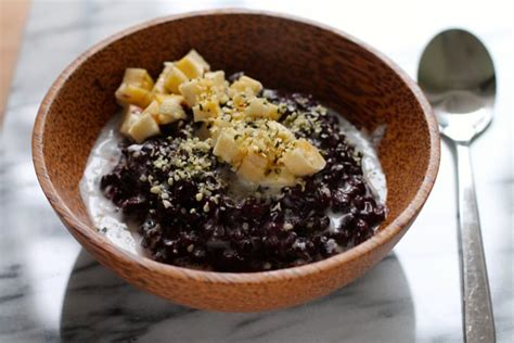 black rice pudding indonesian black rice pudding the muffin myth