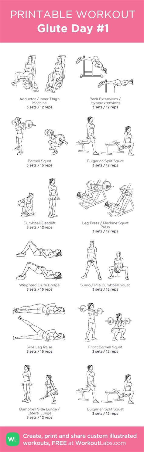 printable volleyball workouts 25 best ideas about glute challenge on pinterest butt