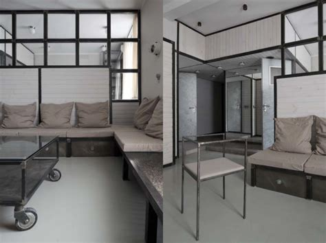 industrial apartment from an apartment with industrial design to a wooden one