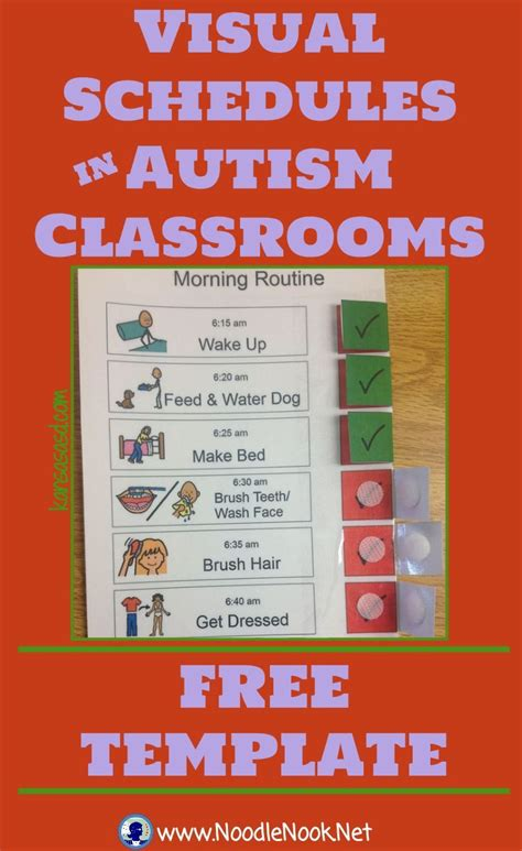 free printable daily visual schedule 25 best ideas about pecs autism on pinterest aids
