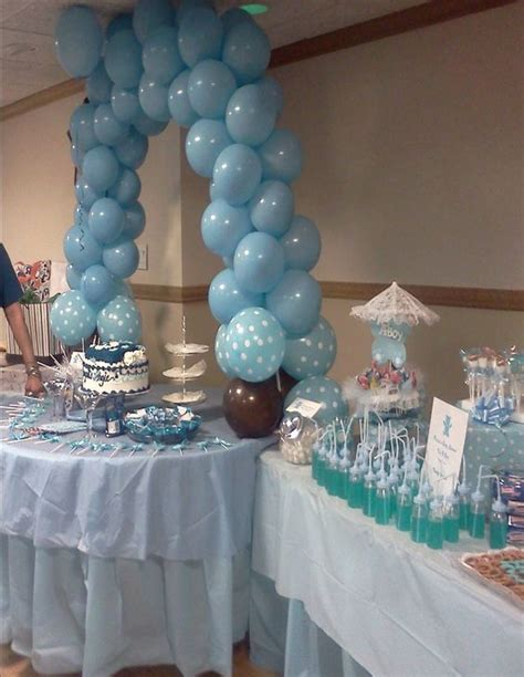 How To Decorate A Baby Shower by Boy Baby Shower Decorations Theresa Gift 4 U