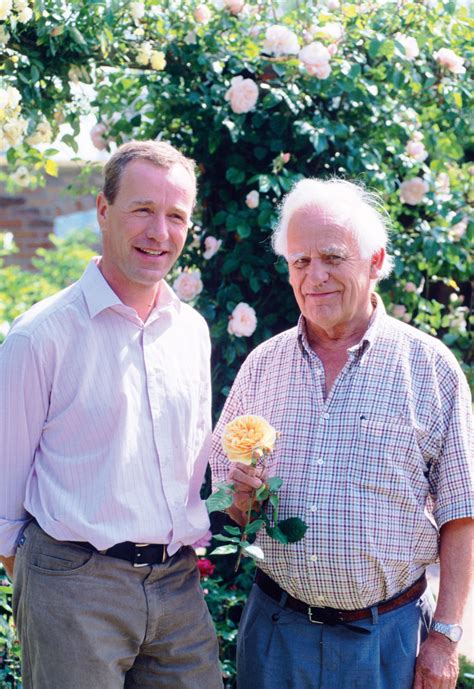 celebrated rosarian david austin dies   horticulture