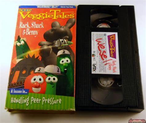 Veggietales Rack Shack And Benny 1998 Vhs by Veggie Tales Rack Shack Benny Vhs Videotape Ebay