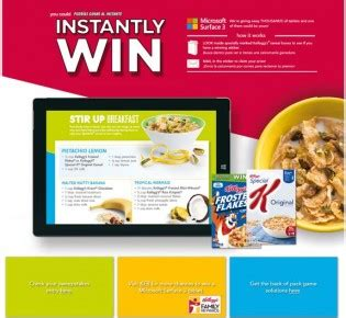 Culver S Instant Win Game - stirupbreakfast kelloggs com promotion sweepstakes pit