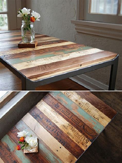 table ideas recycled pallet dining table 15 ideas refurbished ideas