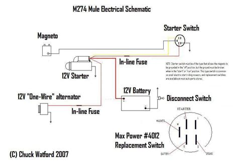 murray lawn mower starter wiring diagram