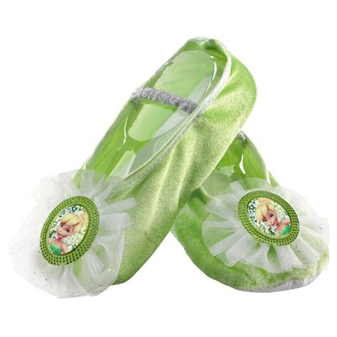 tinker bell slippers tinker bell ballet slippers princess dress up shoes