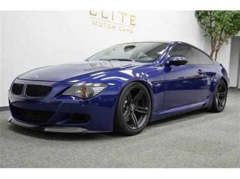bmw m6 2006 purchase used 2006 bmw m6 must see one of a