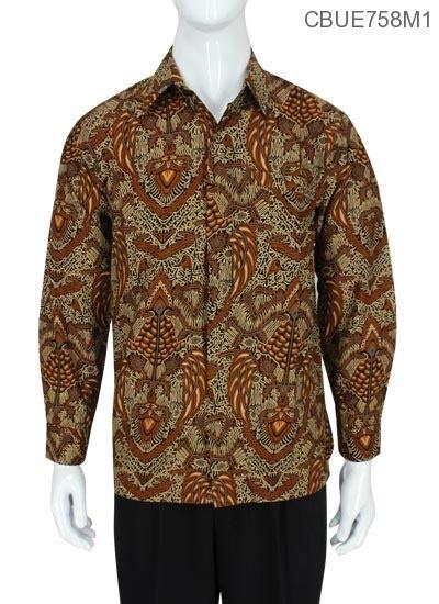 Baju Koko Model Slim Fit Hitam Kode Ad 99 kemeja batik panjang baturaden slim fit motif klasik kemeja lengan panjang murah batikunik