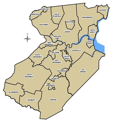Middlesex County Records Municipalities