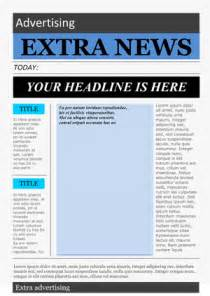 microsoft word newspaper template newspaper template