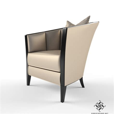 christopher guy armchair christopher guy iribe armchair 3d model max cgtrader com