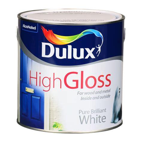 Dulux Pentalite Brillian White 2 5 Lt dulux high gloss brilliant white 2 5l