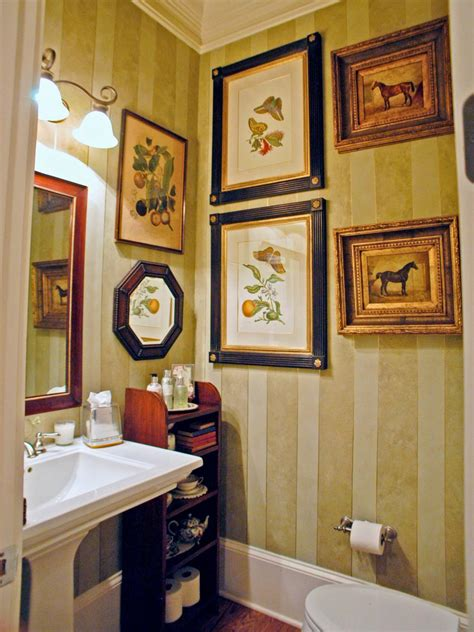 Powder Bathroom Design Ideas by Half Baths And Powder Rooms Hgtv