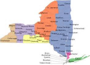 Western New York Map by Find Your Regional Food Bank