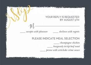 rsvp cards wedding wedding rsvp wording and card etiquette shutterfly