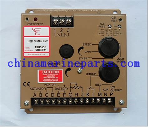 Speed Controller Esd5550e electronic governor product diesel parts cummins engines parts marine diesel parts for sale