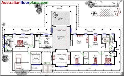 house plans australia acreage acreage house design homestead colonial large 4 bedroom home floor plan 594 m2