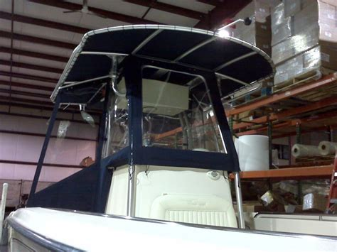 fishing boat enclosures center console enclosure ideas pictures the hull