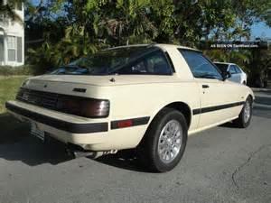 1985 mazda rx 7 gsl se 13b coupe 2 door 1 3l