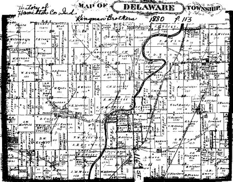 Delaware County Indiana Records Delaware Township Hamilton County Indiana