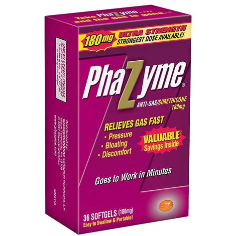 gas relief phazyme liquid gas relief maximum strength patient information description dosage