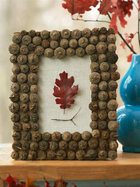 Herbst Basteln Mit Naturmaterialien by Basteln Mit Naturmaterialien 30 Coole Herbst Deko Ideen