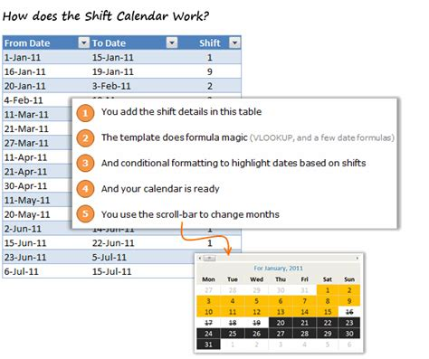 learn microsoft excel com free shift calendar template free download chandoo org