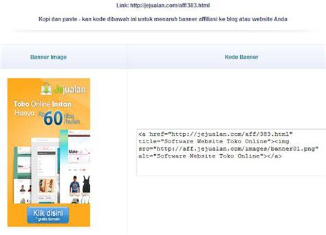 membuat toko online affiliate jejualan com membuat toko online menjadi lebih mudah