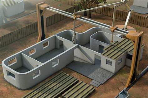 3d printer house new giant 3d printer can build a house in 24 hours technology news