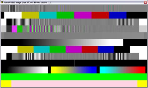 pattern test failed archived identifying common video defects with ni video