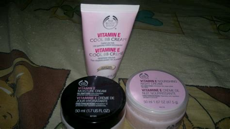 Harga The Shop Lotion review produk skin care vitamin e the shop yuzakki s