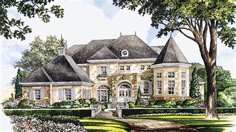 chateauesque house plans and chateauesque designs at