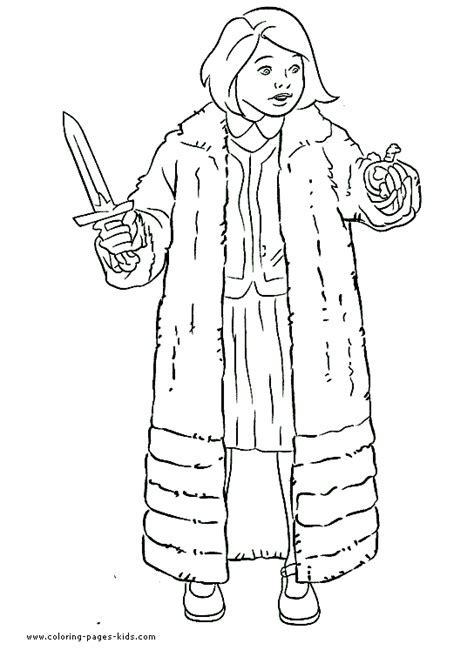 The Chronicles Of Narnia Coloring Pages Free Printable
