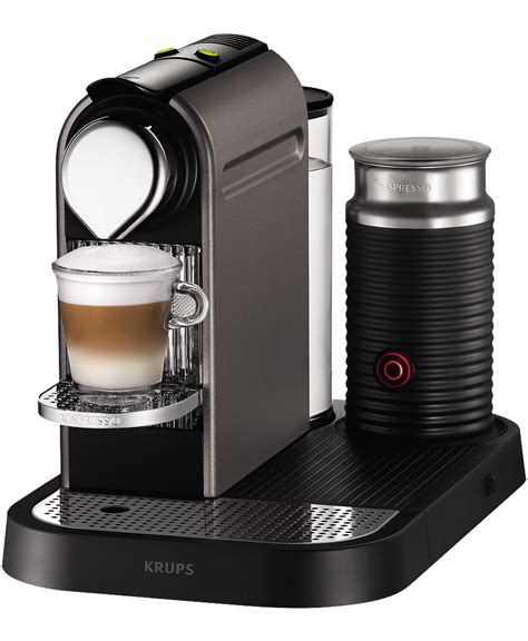 Krups CitiZ&Milk Titanium Coffee Machine   Nespresso