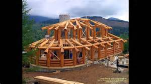 post and beam log homes