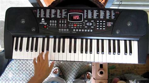 Keyboard Xts electronic keyboard xts 5089