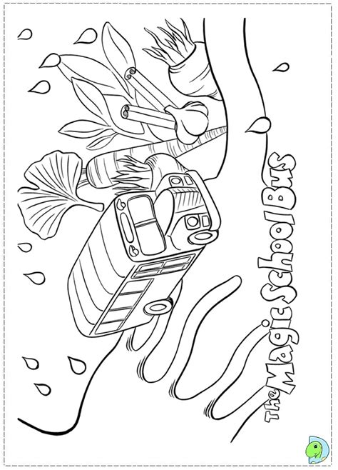magic school bus coloring pages to download and print for free