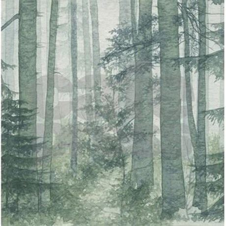 rainforest shower curtain misty forest shower curtain by showercurtainshop