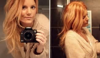 Strawberry blonde hair color aelida