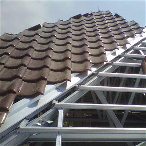 Langkah Demi Langkah Pemasangan Atap Baja Ringan   Praktis
