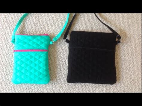 bag pattern youtube diy double zippered crossbody youtube